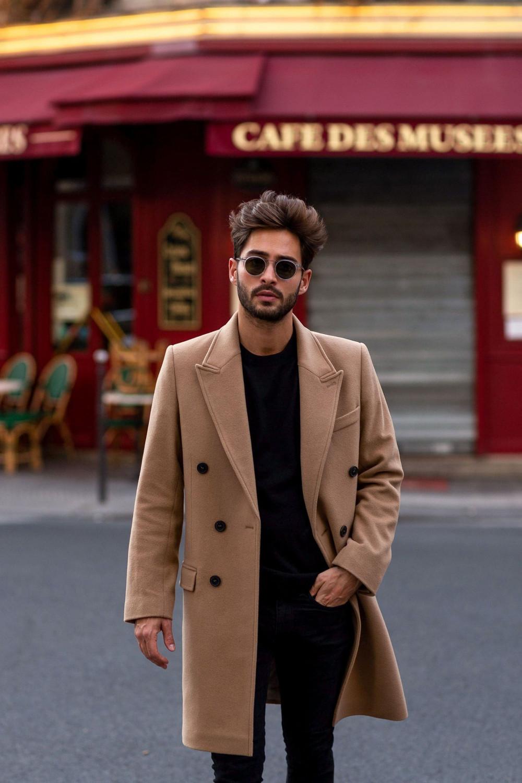 Raphaël overcoat, beige