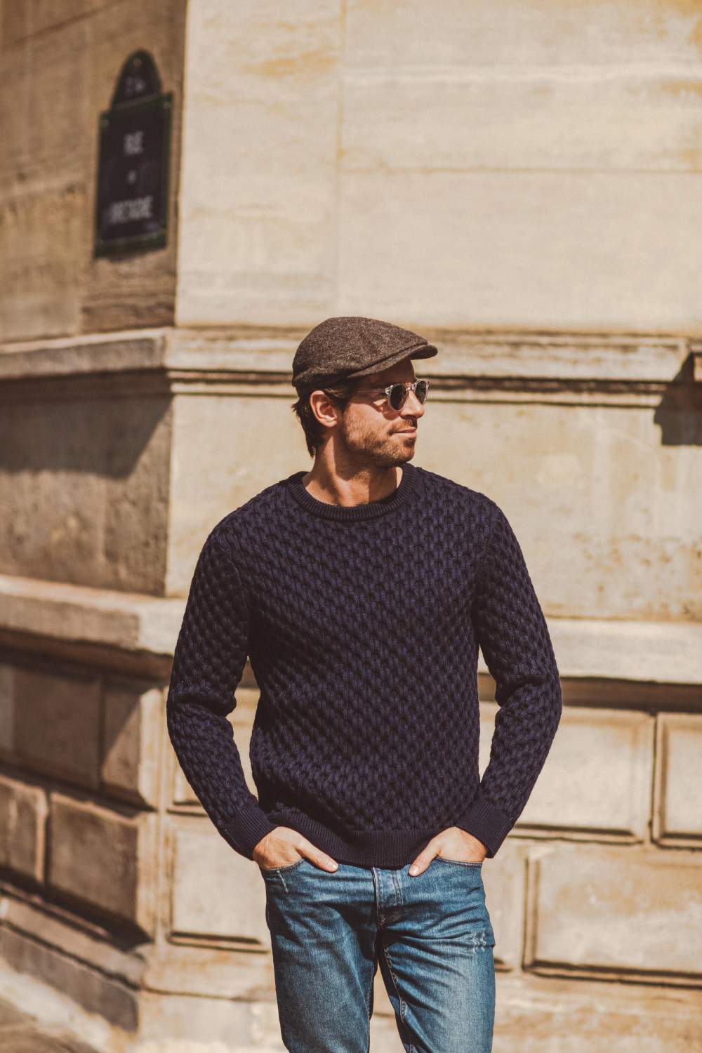 Marcel Sweater Navy